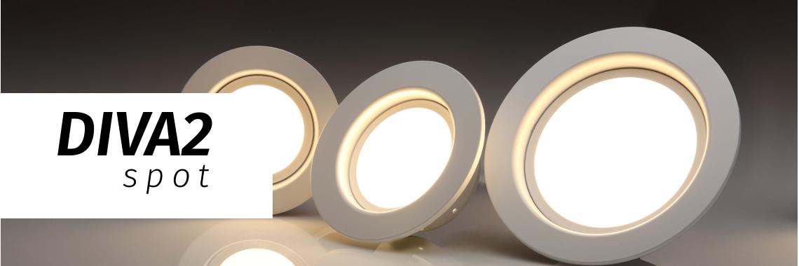 Diva2 spot - точечные светильники